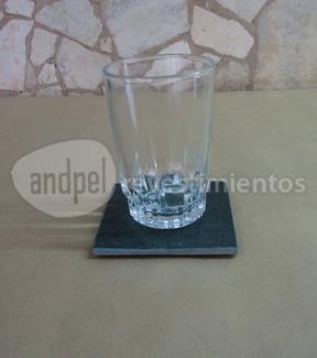 posa vaso o mate de laja san luis 10 cm x 10 cm