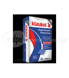 Klaukol impermeable potenciado bolsa por 30 kg